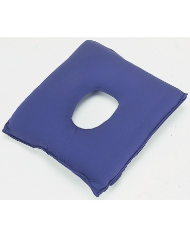 Cuscino Antidecubito In Fibra Cava Siliconata.Cuscino Antidecubito Con Foro Centrale